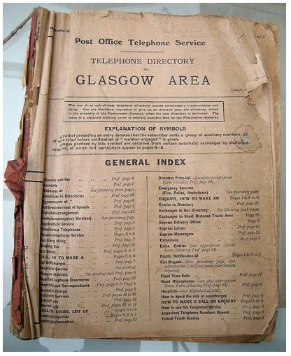 Glasgowphonebook