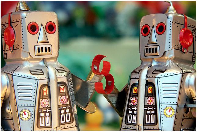 Robotsholdinghands